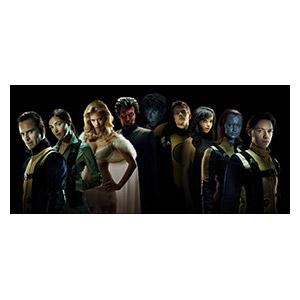X-Men. Размер: 130 х 60 см